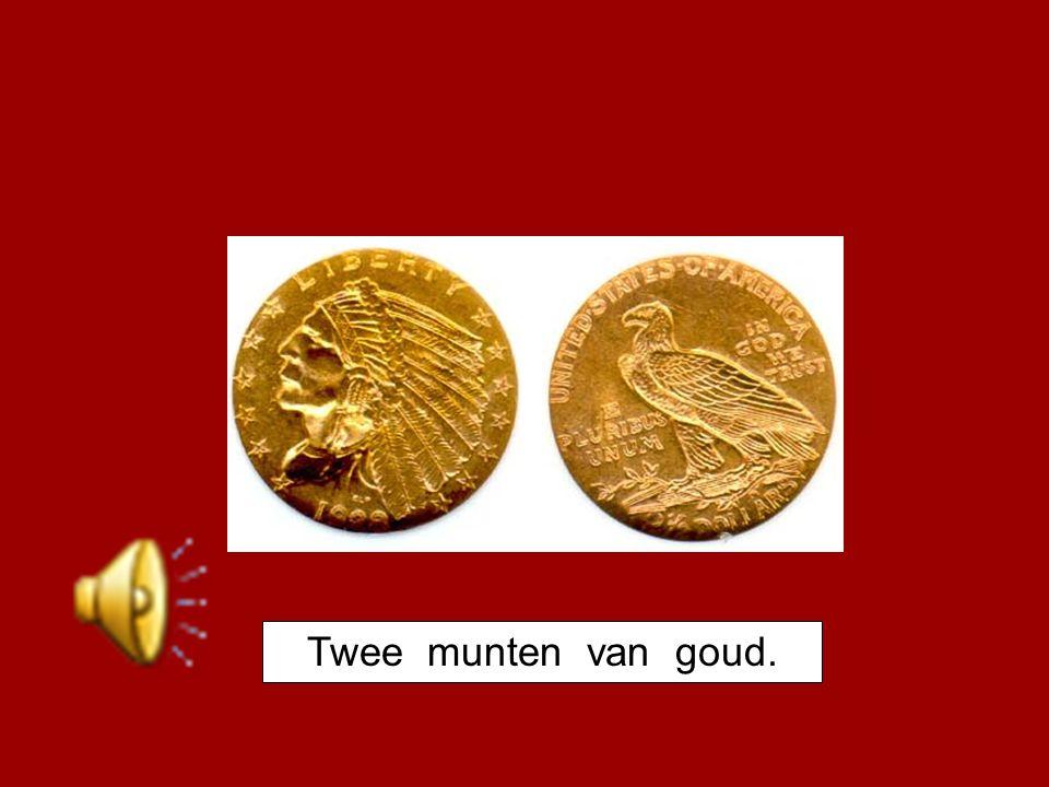 Twee munten van goud.