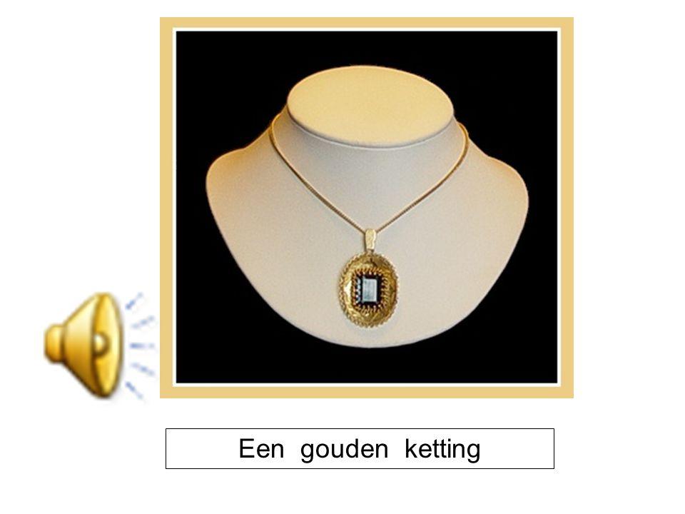 Een gouden ketting