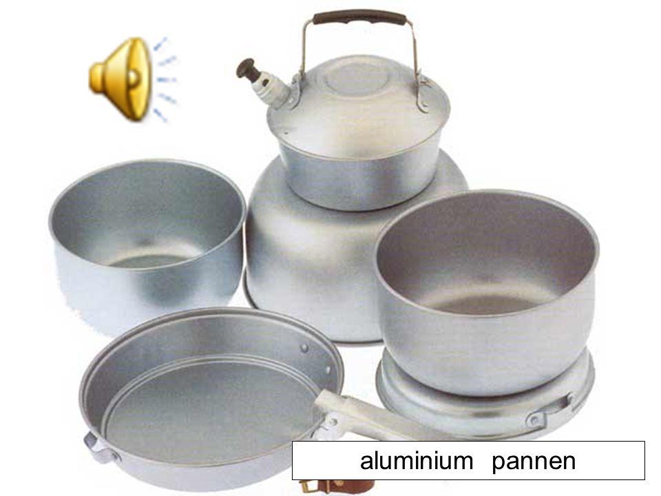 aluminium pannen