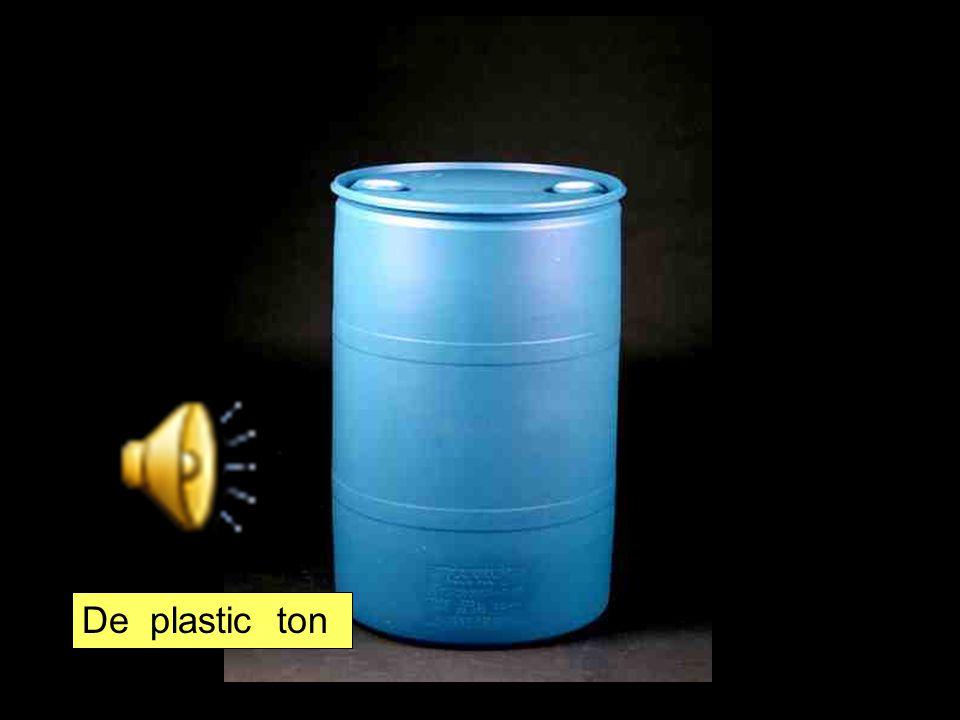De plastic ton