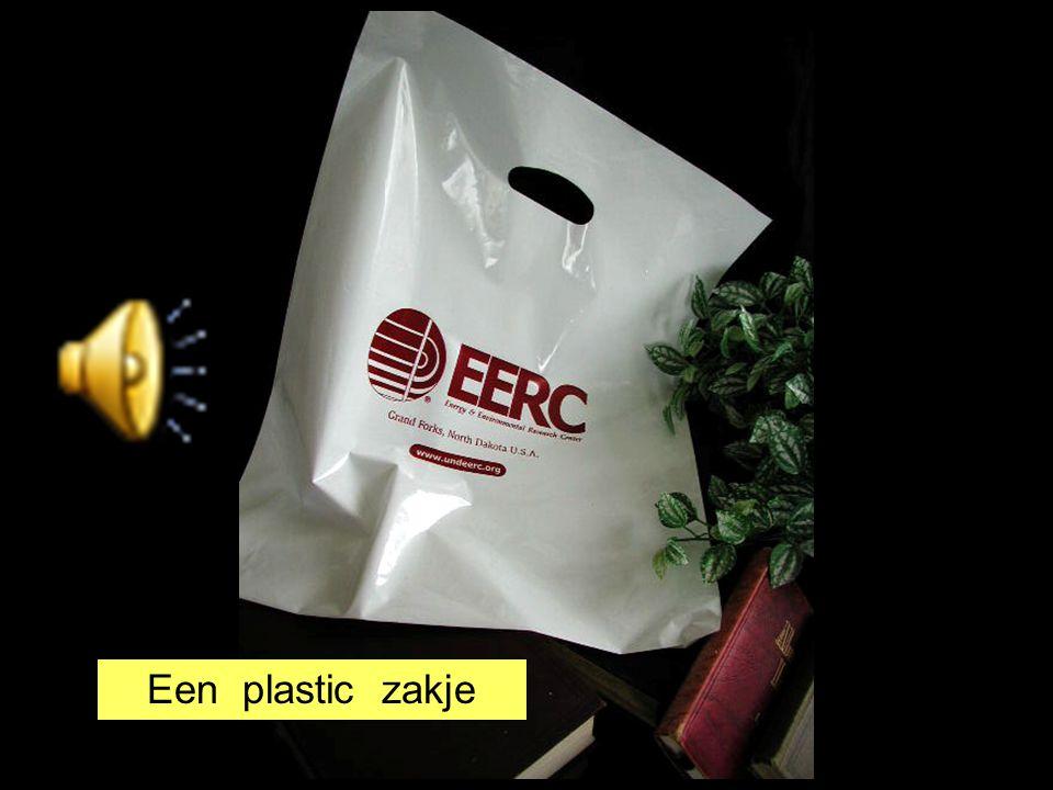 Een plastic zakje
