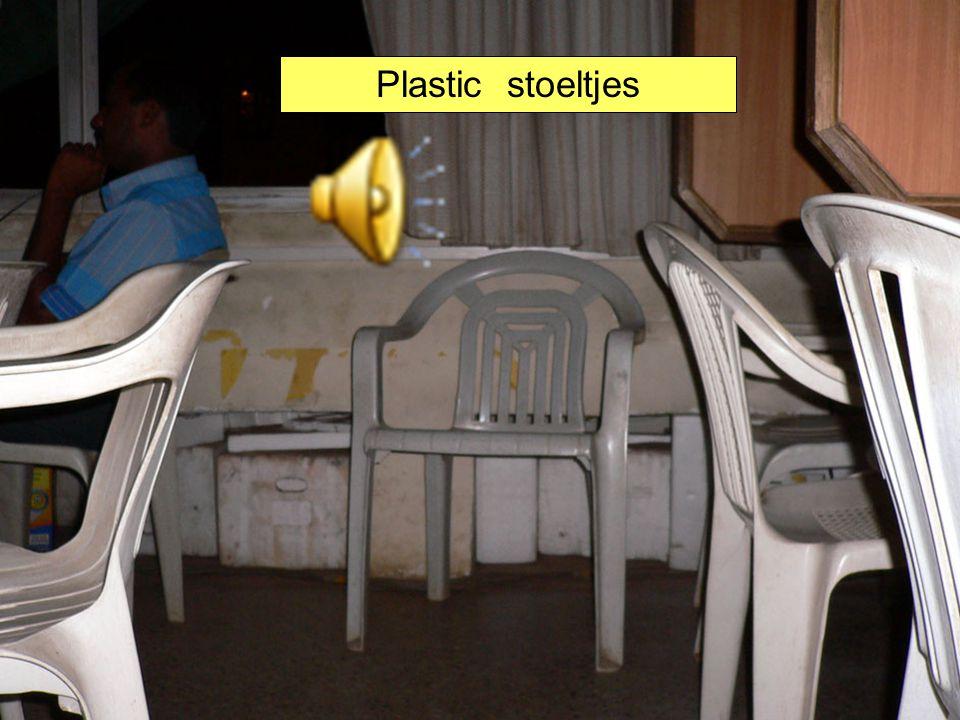 Plastic stoeltjes