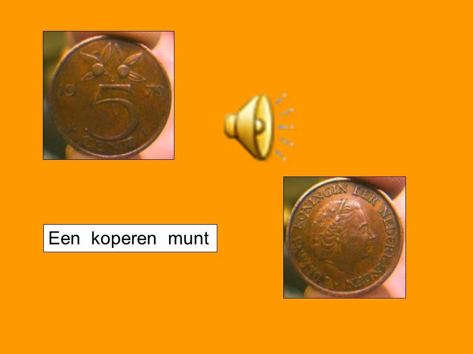 Een koperen munt