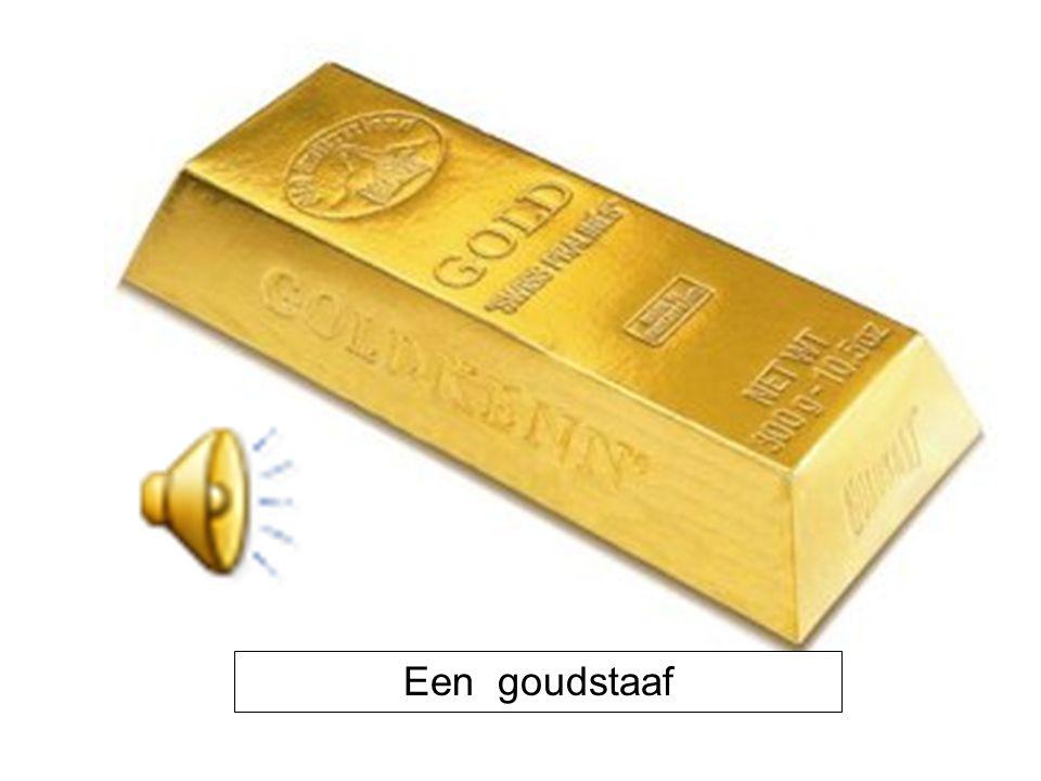 Een goudstaaf