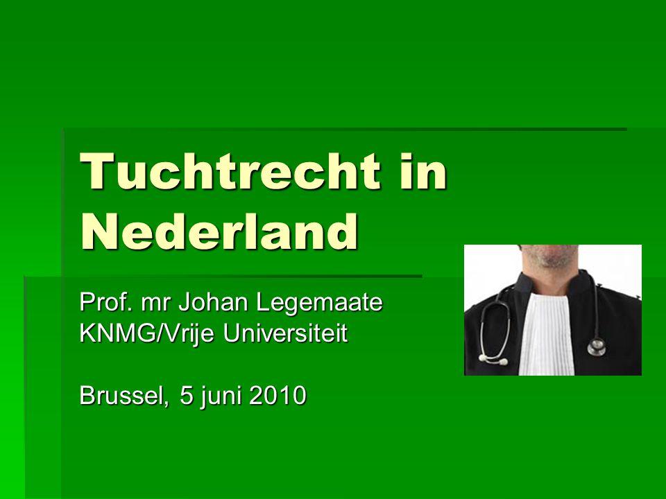 Tuchtrecht in Nederland