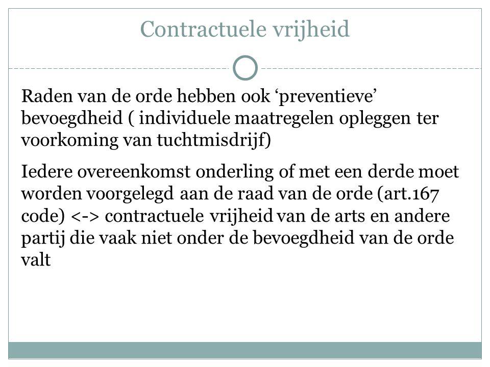 Contractuele vrijheid