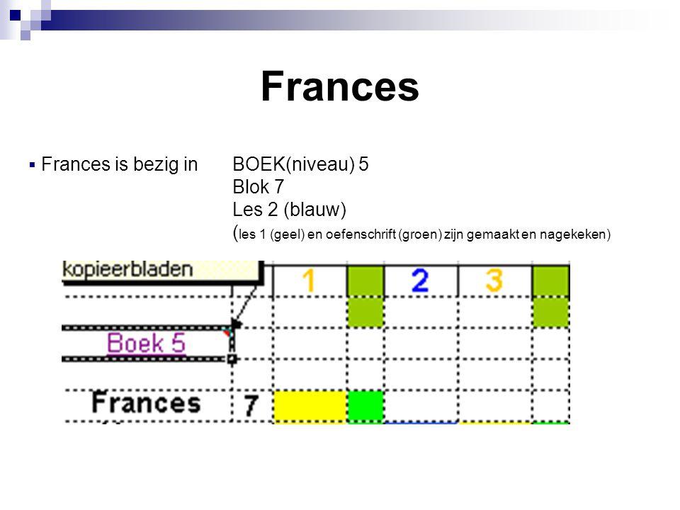 Frances Blok 7 Les 2 (blauw)