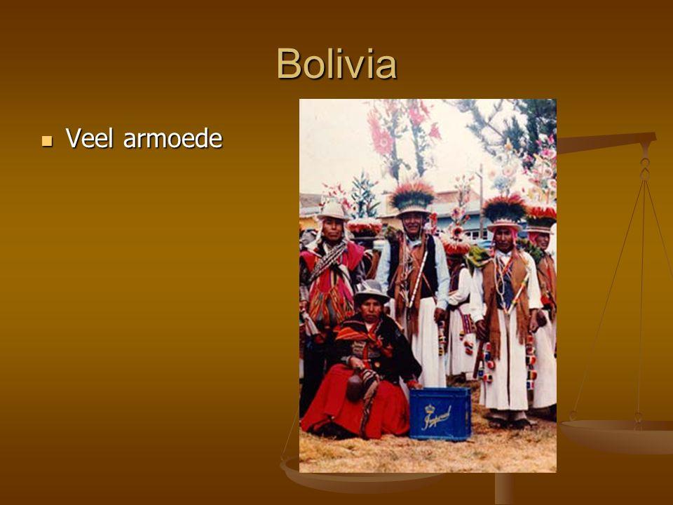 Bolivia Veel armoede