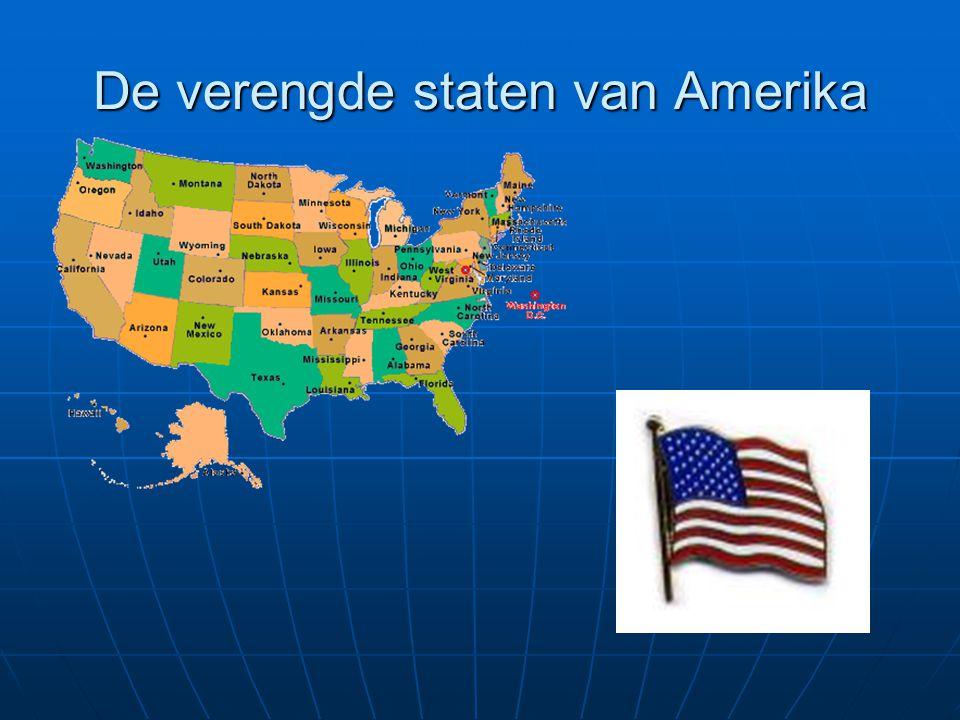 De verengde staten van Amerika