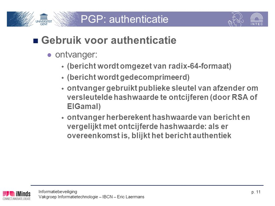 Gebruik voor authenticatie