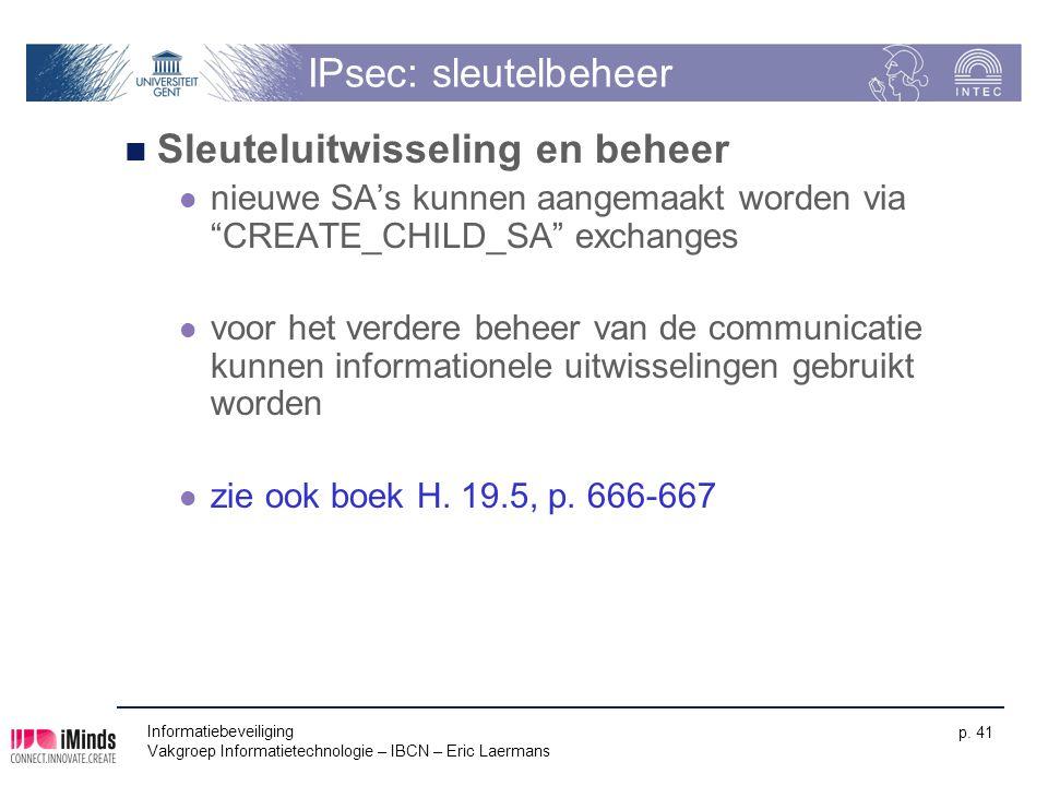 Sleuteluitwisseling en beheer