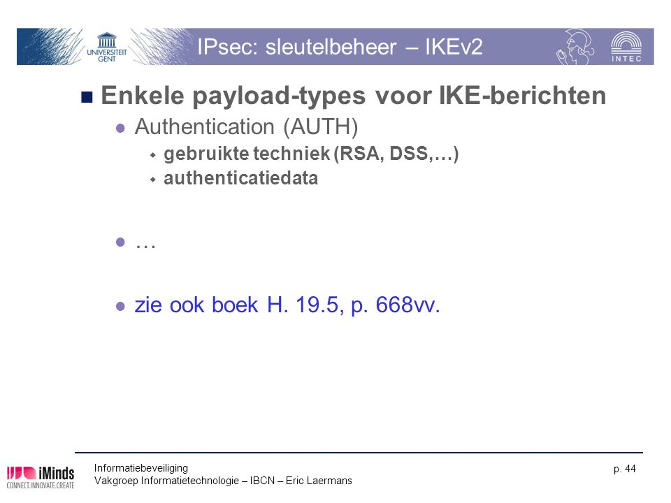 IPsec: sleutelbeheer – IKEv2
