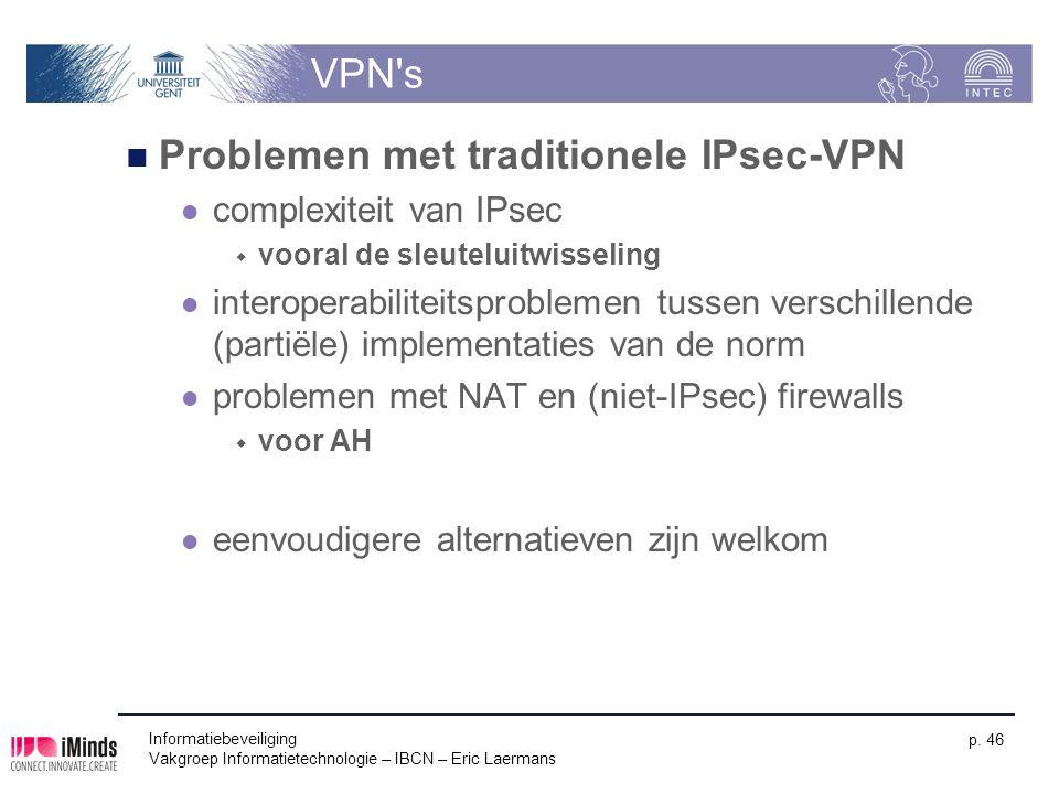Problemen met traditionele IPsec-VPN