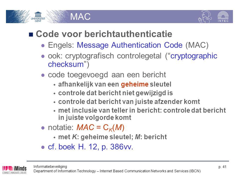 Code voor berichtauthenticatie