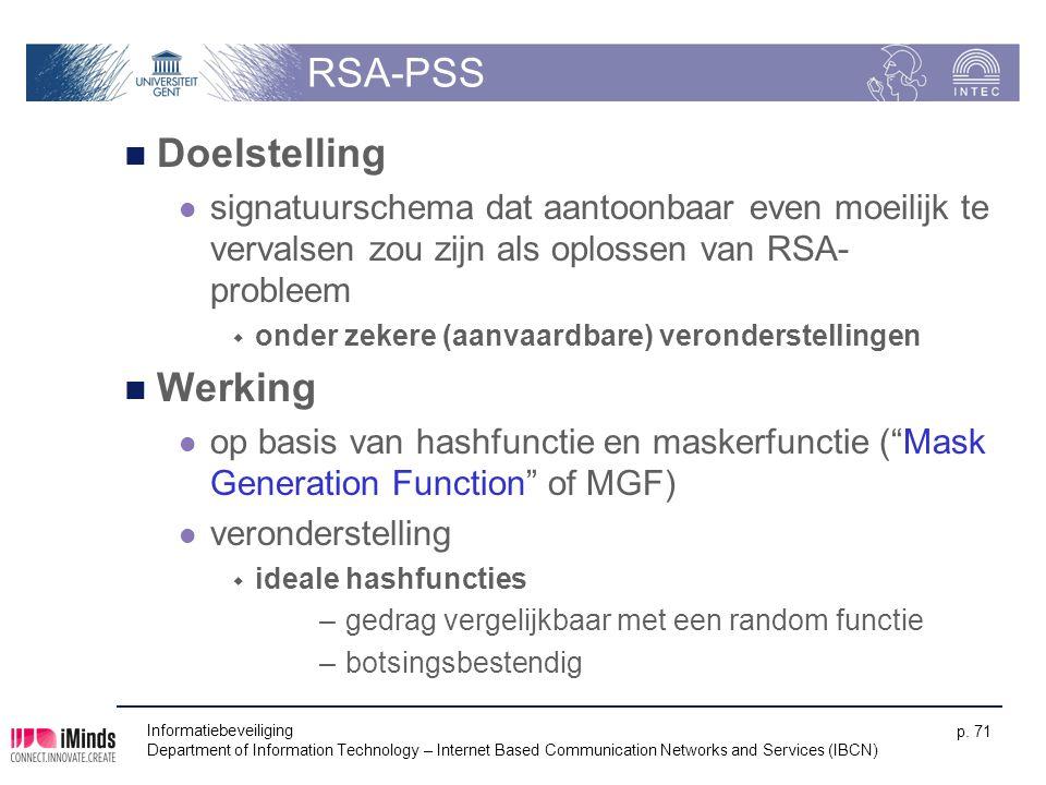 RSA-PSS Doelstelling Werking