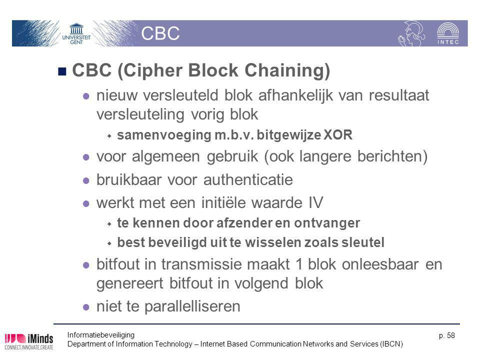 CBC (Cipher Block Chaining)