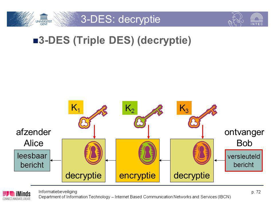 3-DES (Triple DES) (decryptie)
