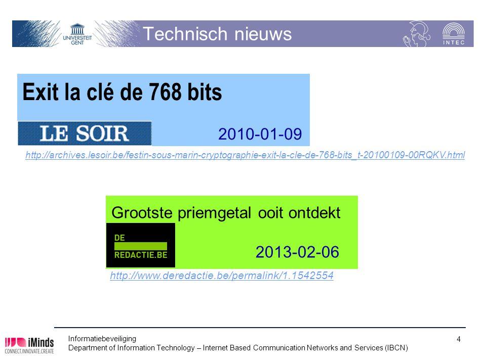 Exit la clé de 768 bits Technisch nieuws 2010-01-09