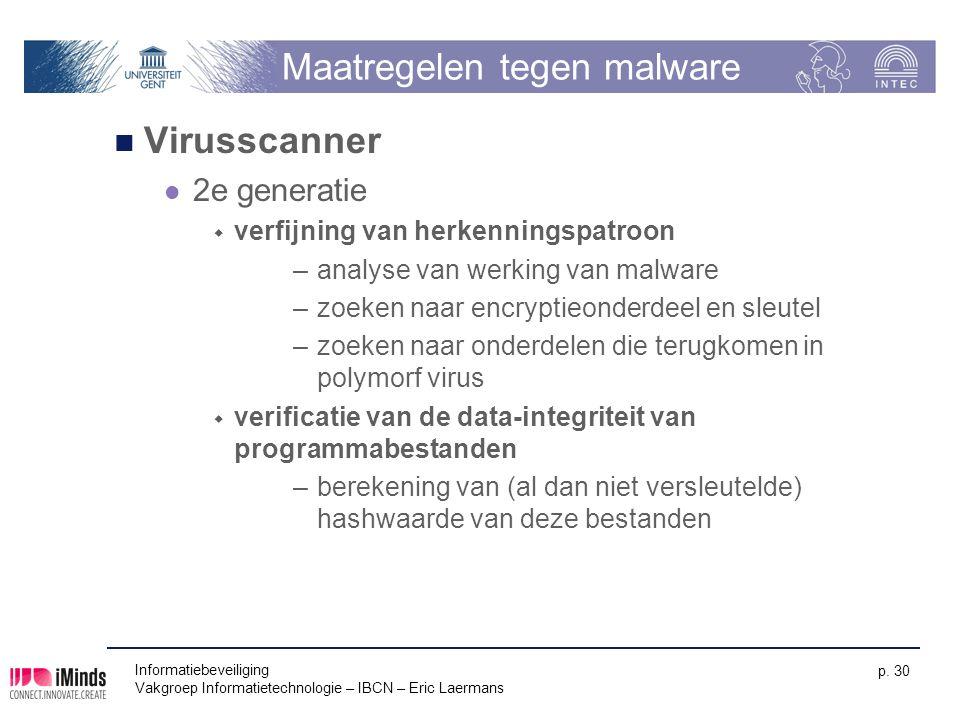 Maatregelen tegen malware