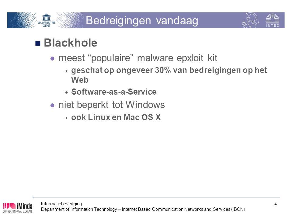 Bedreigingen vandaag Blackhole meest populaire malware epxloit kit