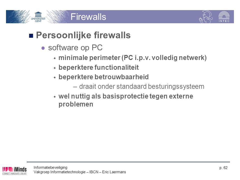 Persoonlijke firewalls