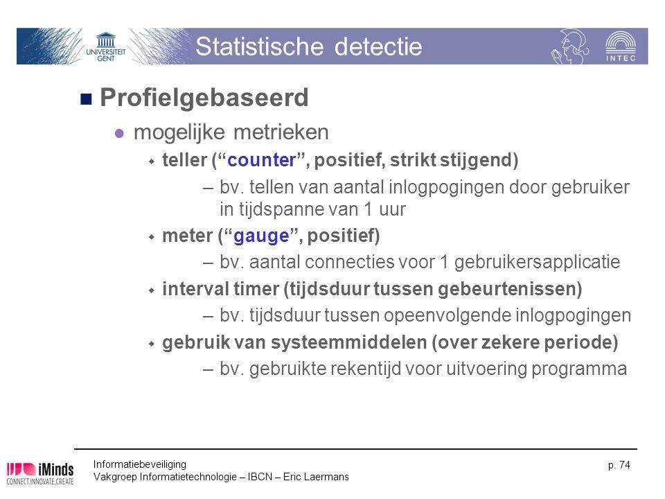 Statistische detectie
