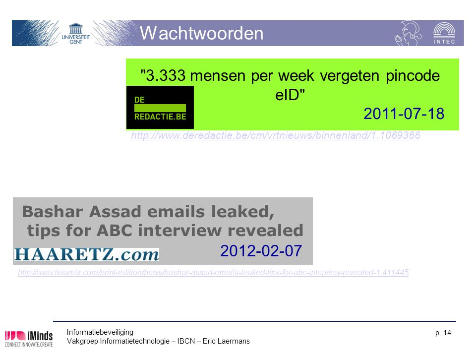 3.333 mensen per week vergeten pincode eID