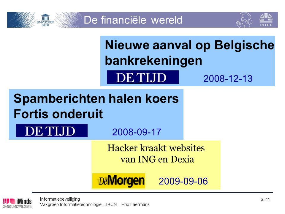 Hacker kraakt websites van ING en Dexia