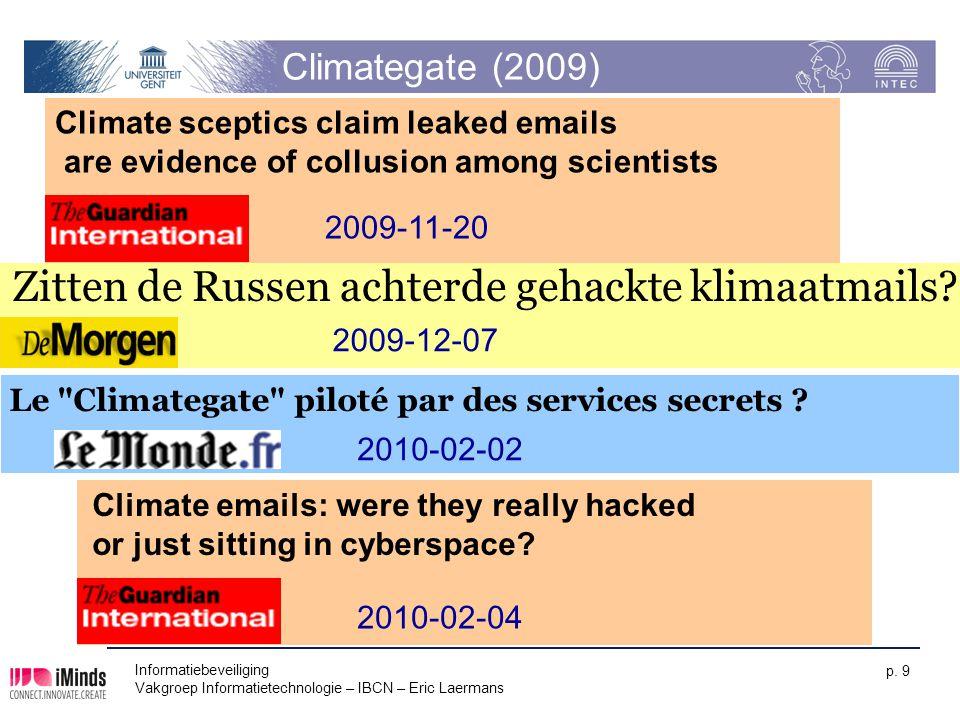Zitten de Russen achterde gehackte klimaatmails