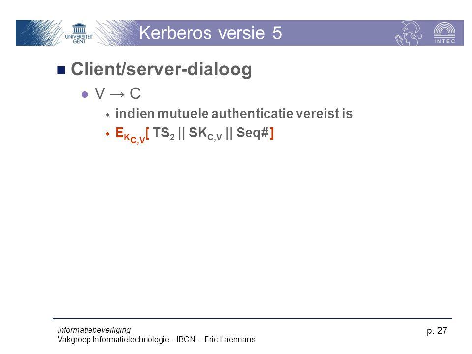 Client/server-dialoog