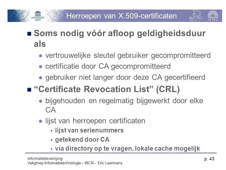 Herroepen van X.509-certificaten