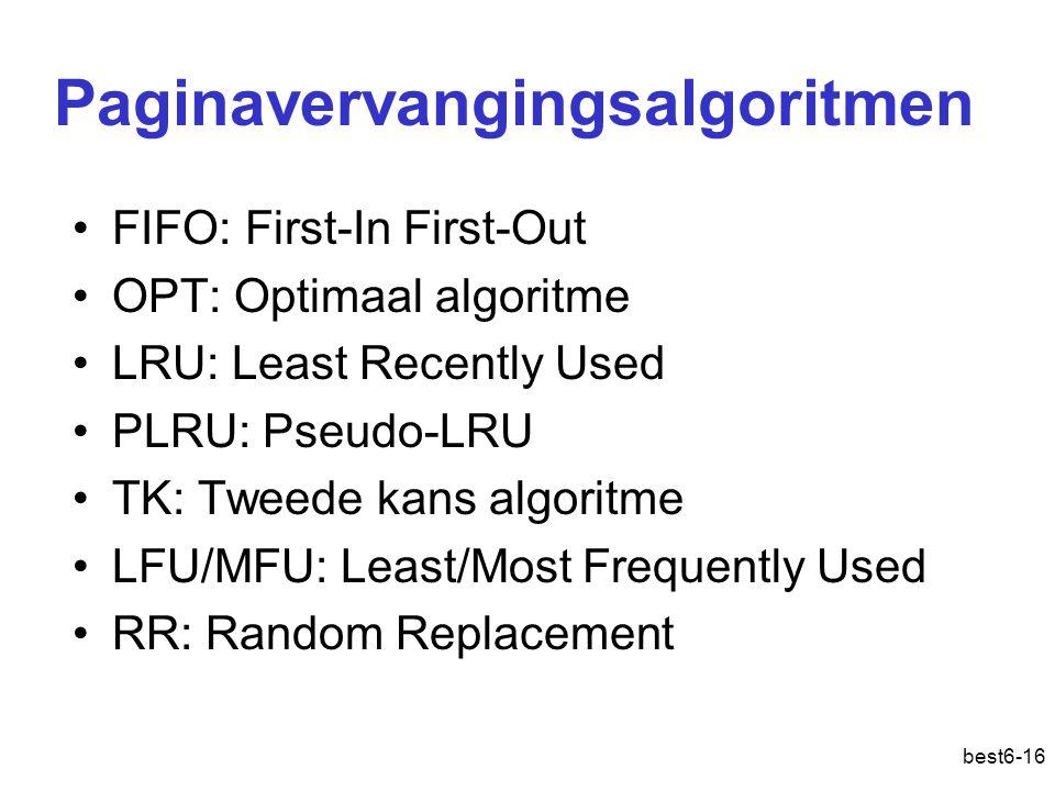 Paginavervangingsalgoritmen
