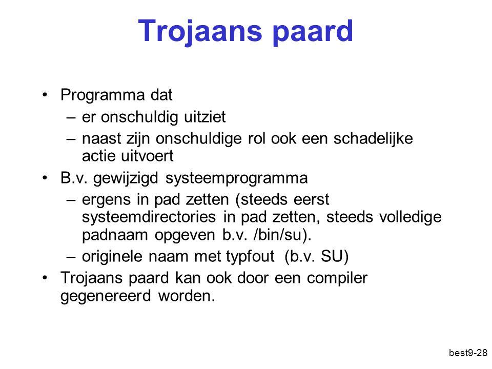 Trojaans paard Programma dat er onschuldig uitziet