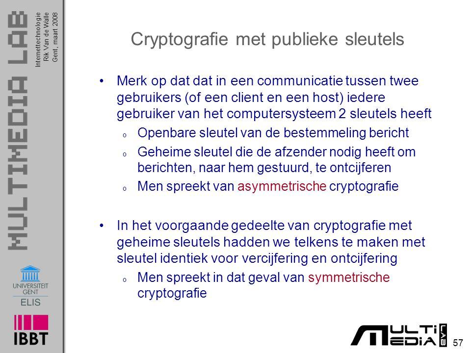 Cryptografie met publieke sleutels