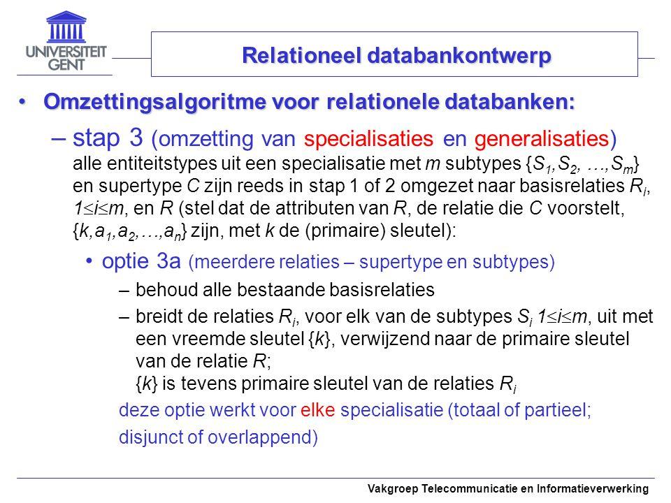 Relationeel databankontwerp