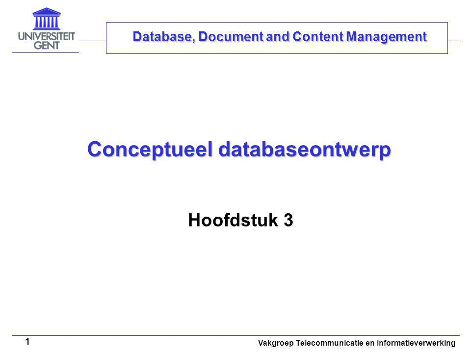 Conceptueel databaseontwerp