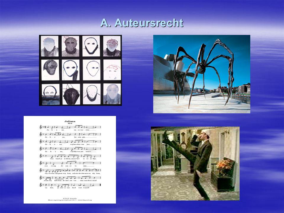 A. Auteursrecht