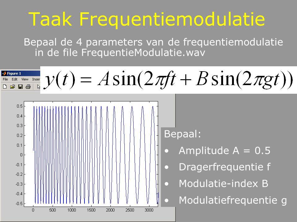 Taak Frequentiemodulatie
