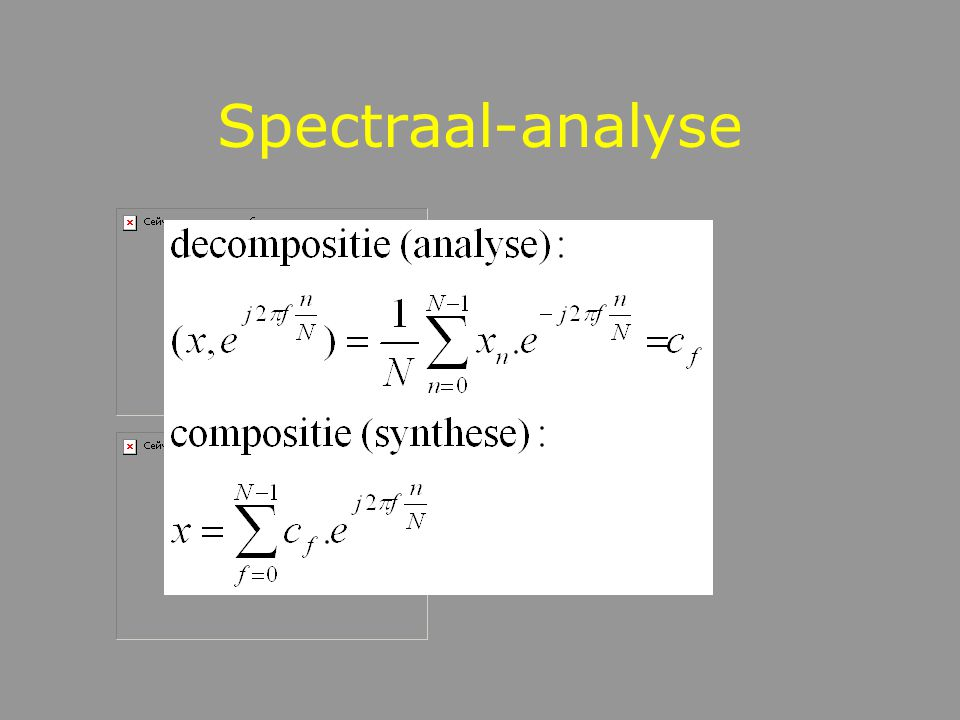 Spectraal-analyse