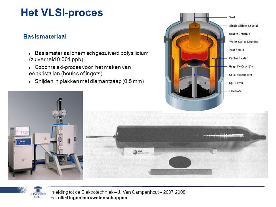 Het VLSI-proces Basismateriaal