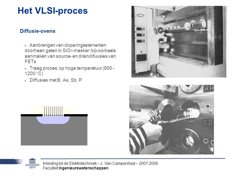Het VLSI-proces Diffusie-ovens