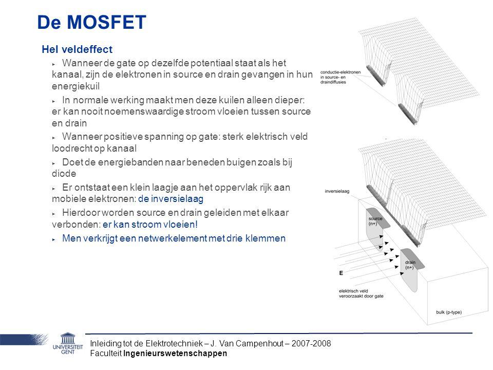 De MOSFET Hel veldeffect