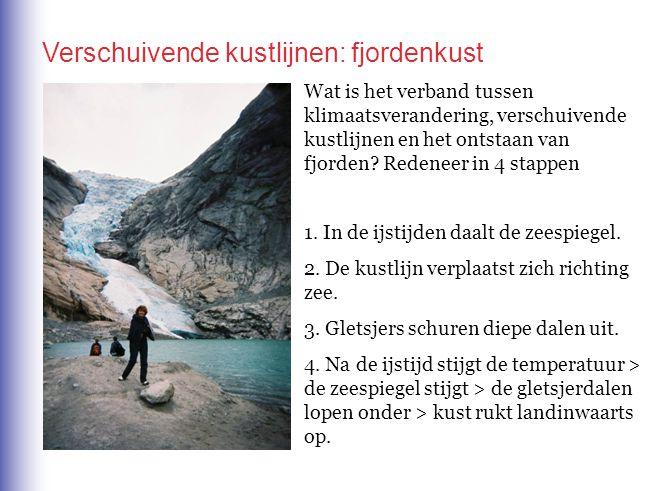 Verschuivende kustlijnen: fjordenkust