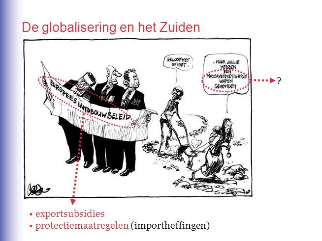 De globalisering en het Zuiden