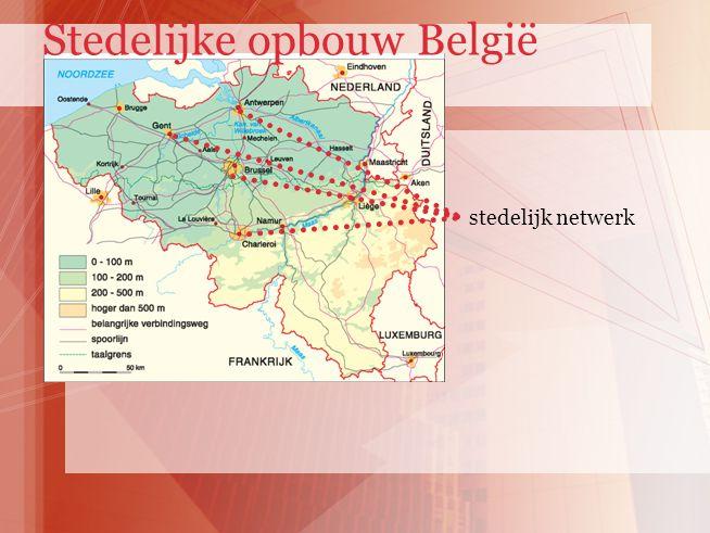 Stedelijke opbouw België
