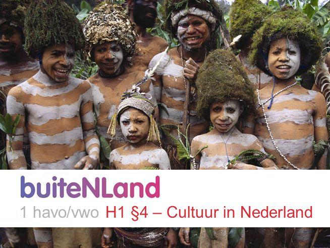 1 havo/vwo H1 §4 – Cultuur in Nederland