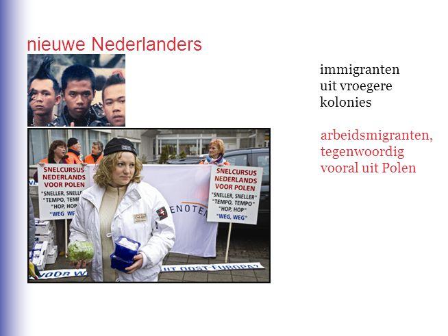 nieuwe Nederlanders immigranten uit vroegere kolonies