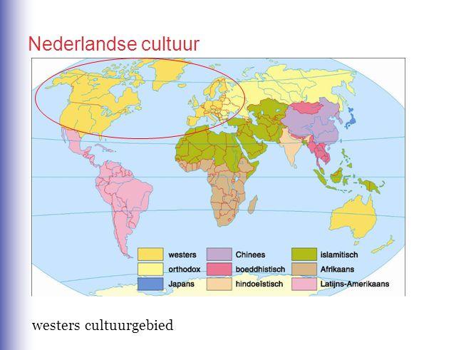 Nederlandse cultuur westers cultuurgebied