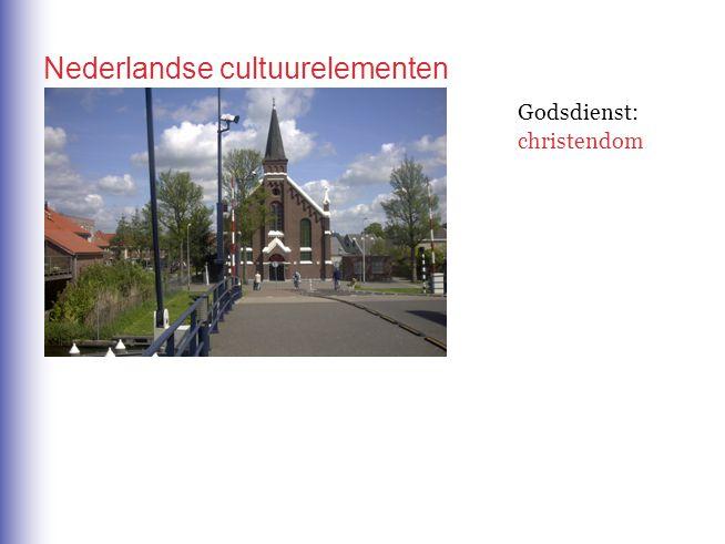 Nederlandse cultuurelementen