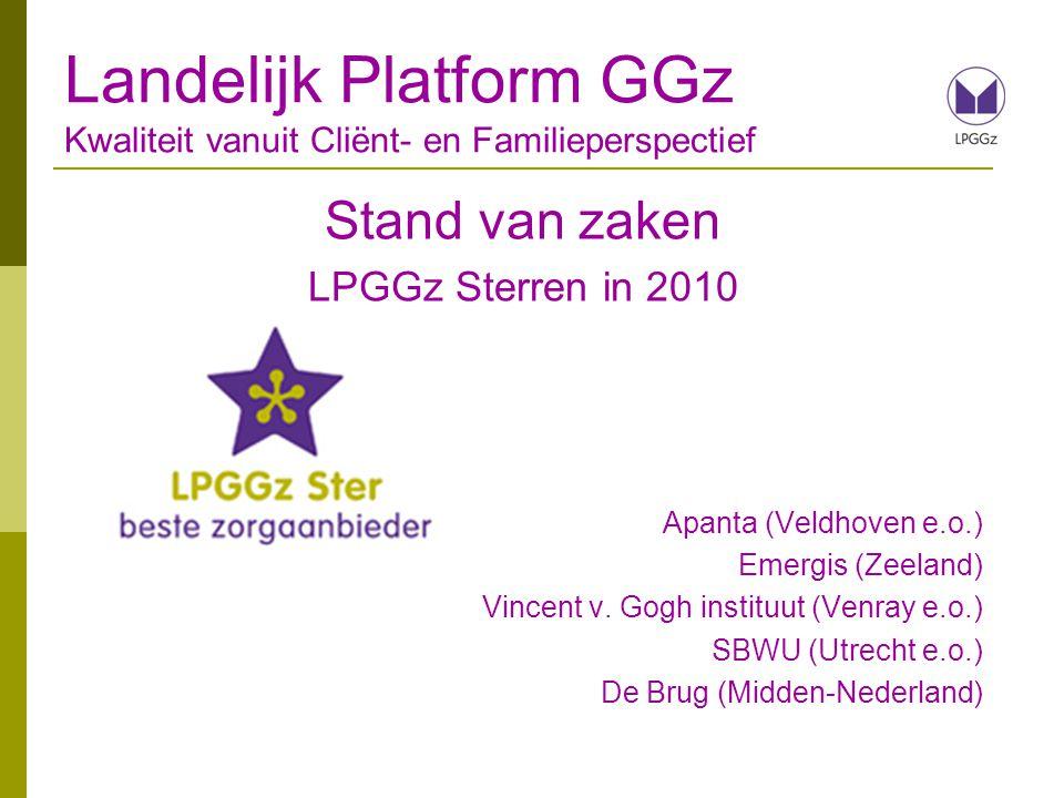 Landelijk Platform GGz Kwaliteit vanuit Cliënt- en Familieperspectief